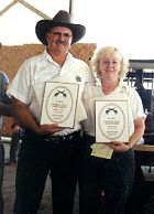 Winners: Jim and Margie Tinsley