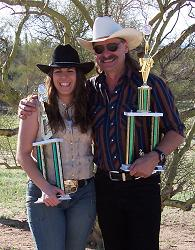 Wild West Champions: Nicole Franks and Bob Mernickle