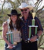 Wild West Champions: Nicole Franks and Bob Mernickle