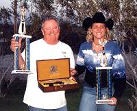 Thumbing Champions - Gary Tryon and Jennifer Knick