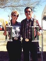 Wild West Champions: Sherry Kelley and Gill Guerra Sr.