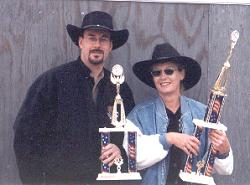 Wild West Champions: Howard Darby and Sherry Kelley