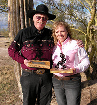 Wild West Champions: Cal Eilrich and Peggy Franks