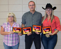 Baker Montana Index Champions: Laura Campbell, Howard Darby and Nicole Franks