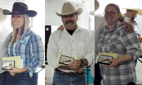 Baker Montana Index Champions: Nicole Franks, Mike Landis and Alexis Rotherberg