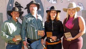 Oregon Six-Gun Championship: Paula Murphy, Dan Qualls, Nicole Franks, Shawn Murphy