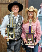 World Blank Champions: John LeBlanc and Judy Lawton
