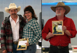 Annie Oakley Index Championship: Tom Lechner, Donna Lechner and TD Campbell