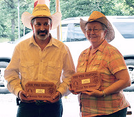 World Index Champions: Donna Lechner and Dan Qualls
