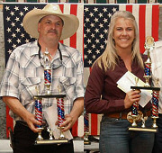 US Open Champions: Mike Pantano and Sherry Peck