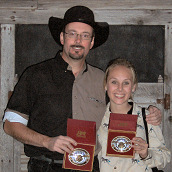 Cripple Creek Blank Champions: Howard Darby and Alanna Blinn