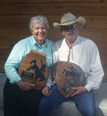 Centennial Shootout Champions: Anita and Chuck Burnham