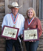 US National Champions: Chuck Burnham and Peggy Franks
