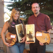 Cripple Creek Blank Champions: Howard Darby and Nicole Franks