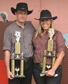 World Wax Elimination Champions: Howard Darby and Nicole Franks