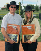 Parker Days Champions: Howard Darby and Nicole Franks