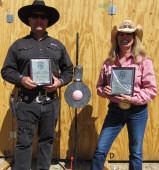 US Elimination Champions: Jon Wilson and Judy Lawton