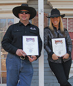 Frontier City Champions: Jon Wilson and Nicole Franks