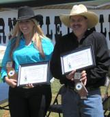 California Champions: Nicole Franks and Mike Pantano